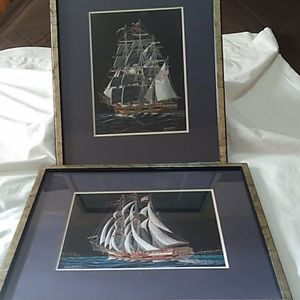 (2) Richard Reid Mason prints